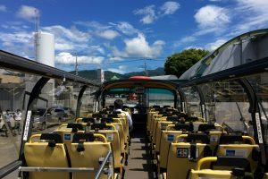 オープンルーフトップバス